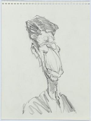 Bust of Reagan