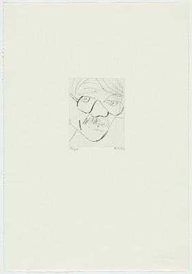 Richard Diebenkorn Self-Portrait