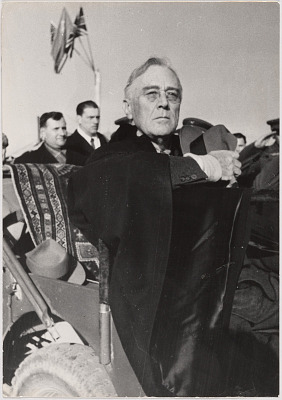 Franklin Delano Roosevelt at Yalta