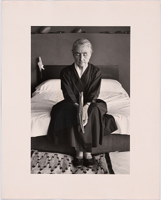 With a Book by Leonard Baskin, Bedroom, Abiquiu (10 of 48)