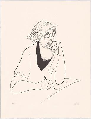 Al Hirschfeld Self-portrait