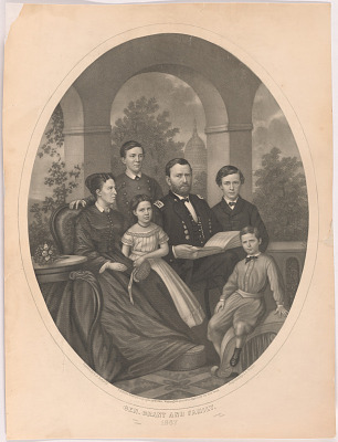 General Grant and Family