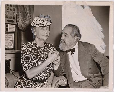 Jo Davidson and Helen Keller