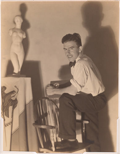 Tom Lea at Chicago Art Institute in the late 1920s
