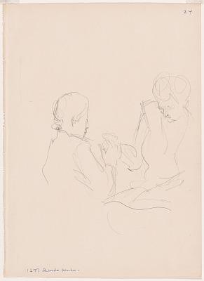 Helen Keller (with Polly Thompson)