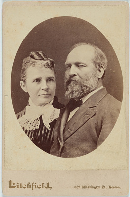 James and Lucretia Garfield