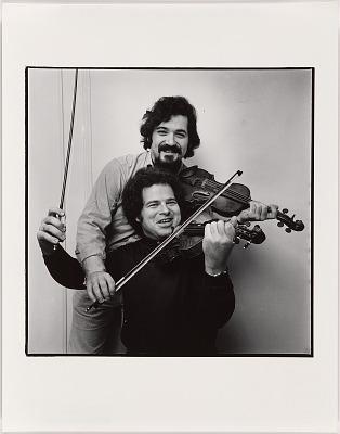 Itzhak Perlman (with Pinchas Zukerman)