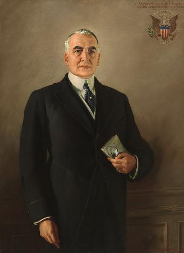 Warren G. Harding | National Portrait Gallery