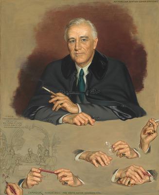 Franklin D. Roosevelt Portrait