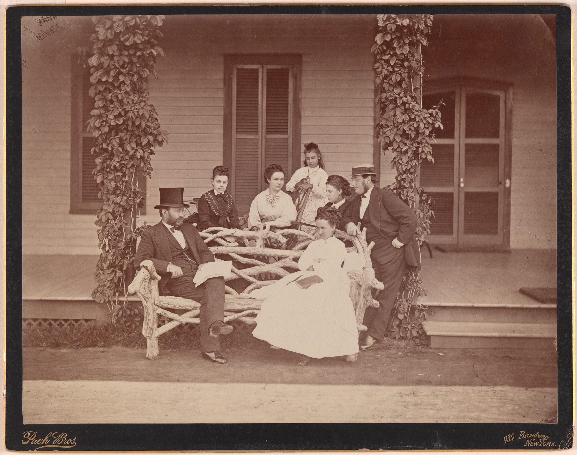 Ulysses S. Grant and Family