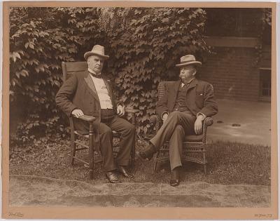 William McKinley and Garret Augustus Hobart