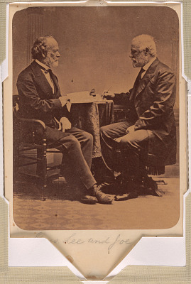 Robert E. Lee and Joseph E. Johnston
