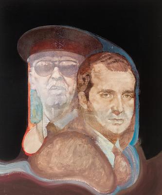 Francisco Franco and Juan Carlos