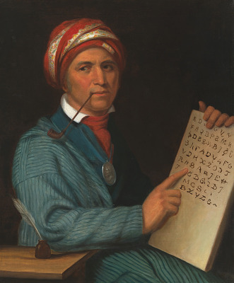 Sequoyah Portrait