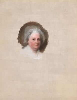 Martha Washington (The Athenaeum Portrait) Portrait