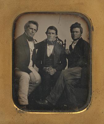 Josiah Johnson Hawes, Albert Francis Hawes and Charles Ebenezer Hawes