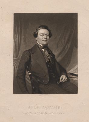 John Sartain Self-Portrait