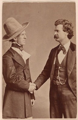 Samuel Clemens (with John T. Raymond)
