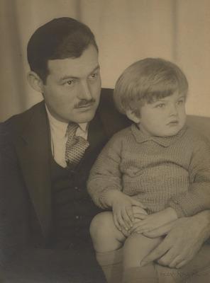Ernest Hemingway and Son