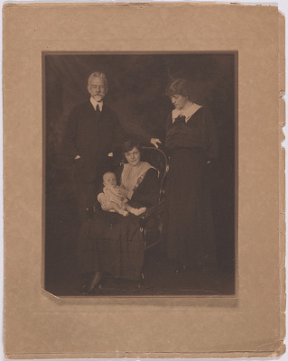 Henry Cabot Lodge, Constance Williams, Constance Minot and William Minot