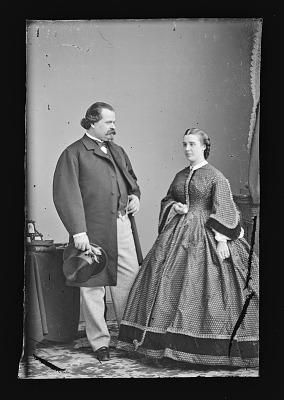 Signor Agostino Guilliano Susini and wife