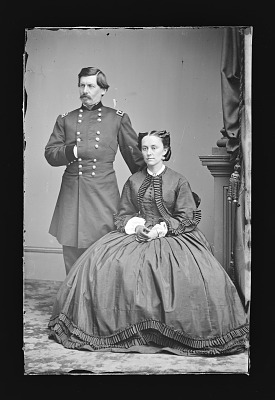 George Brinton McClellan and wife [Ellen Marcy]