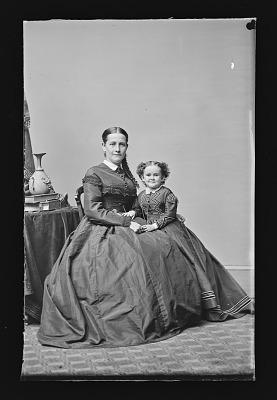 Minnie Warren and Mrs. Sylvester Bleeker