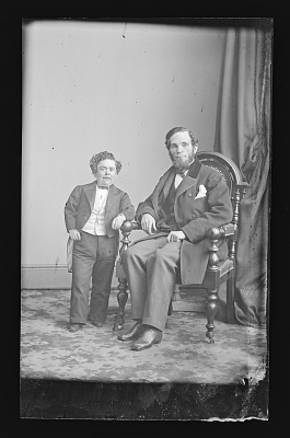 Charles Stratton and Edward Anthony