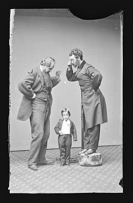 Lilliputian King, with John Drummond and Professor Cromwell