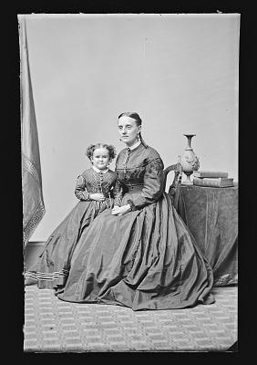 Minnie Warren and Mrs. Palmer