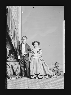 G.W.M. Nutt and Minnie Warren