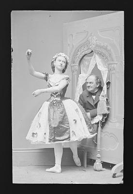 Phineas T. Barnum and Ernestine de Faiber