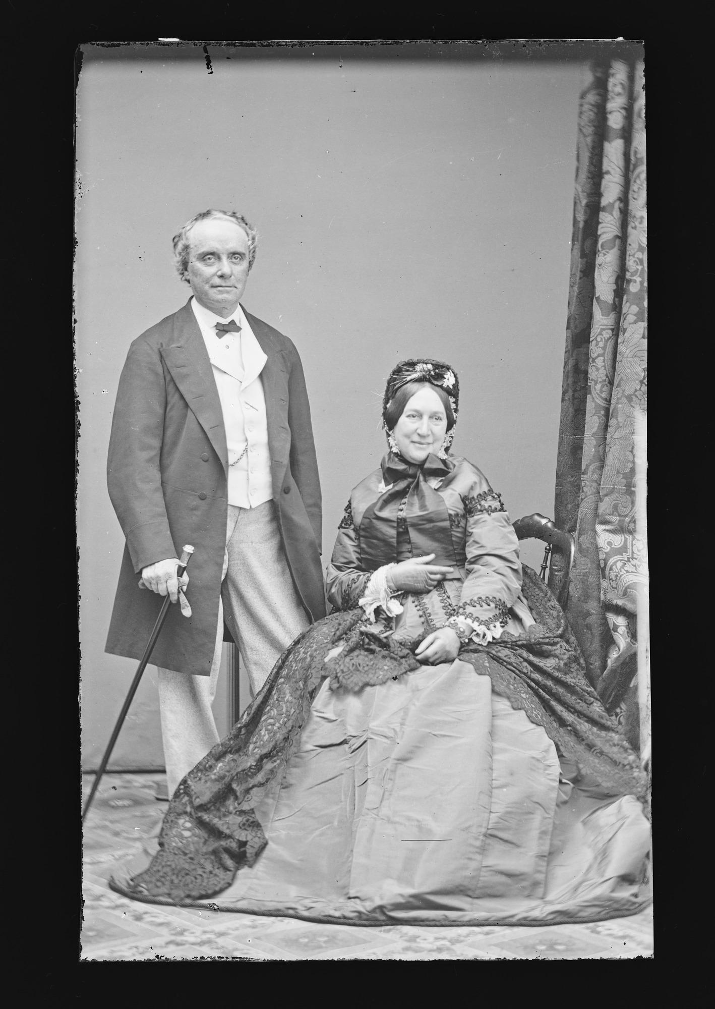 Charles Kean and Wife [Ellen Tree]