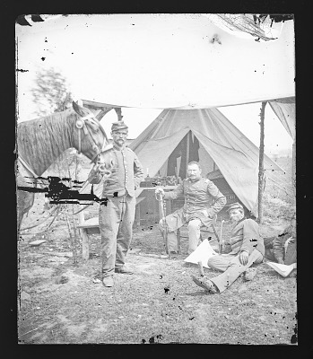 Civil War Camp Scenes