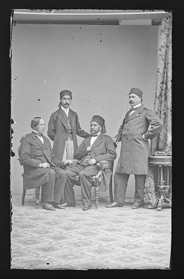 General Hashem, Antoine Chevalier, and Romero Gaita
