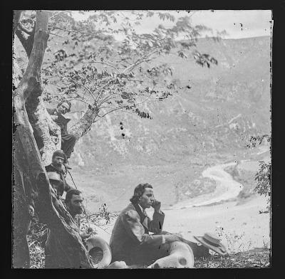 Unidentified Men at Lookout Mountain, Tenn.