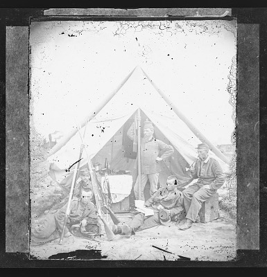 Camp Scene/New York 7th Regiment