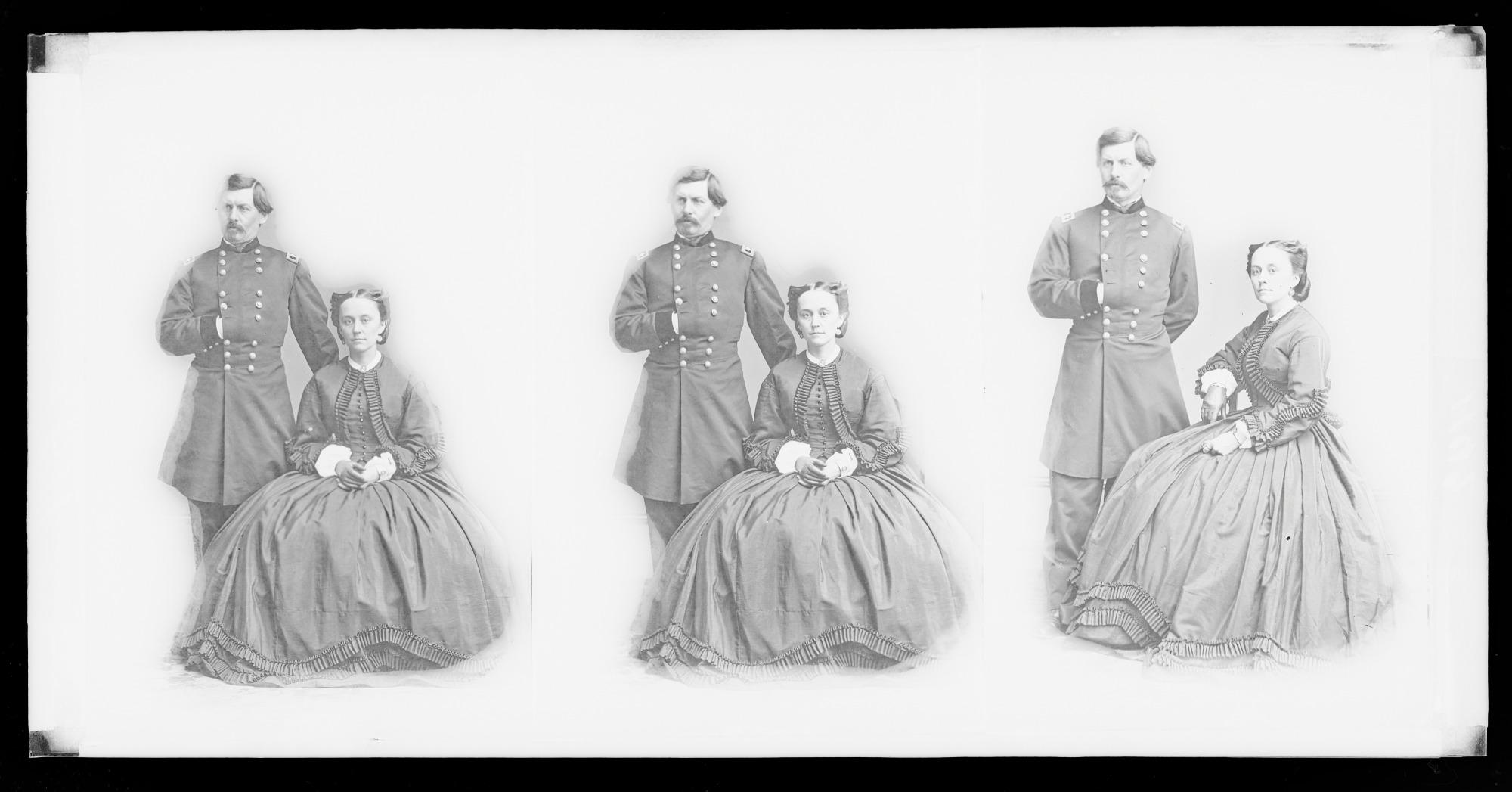 George Brinton McClellan and Wife [Ellen Marcy]