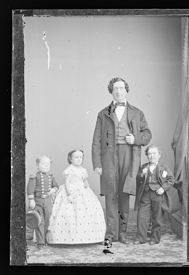 Charles and Lavinia Stratton, and G.W.M. Nutt