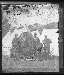 Camp Scene/New York 7th Regiment