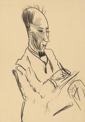 George Wesley Bellows Self-Portrait