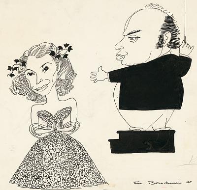 Jeannette MacDonald and Andre Kostelanetz