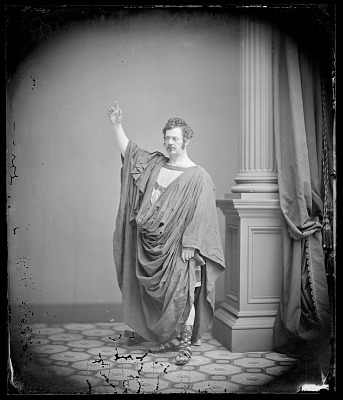 Edwin Forrest as Coriolanus