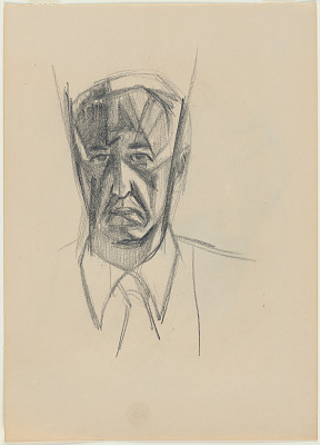 Stanton MacDonald-Wright Self-Portrait