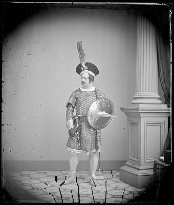 Edwin Forrest as MacBeth