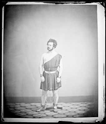 Edwin Forrest as Spartacus in