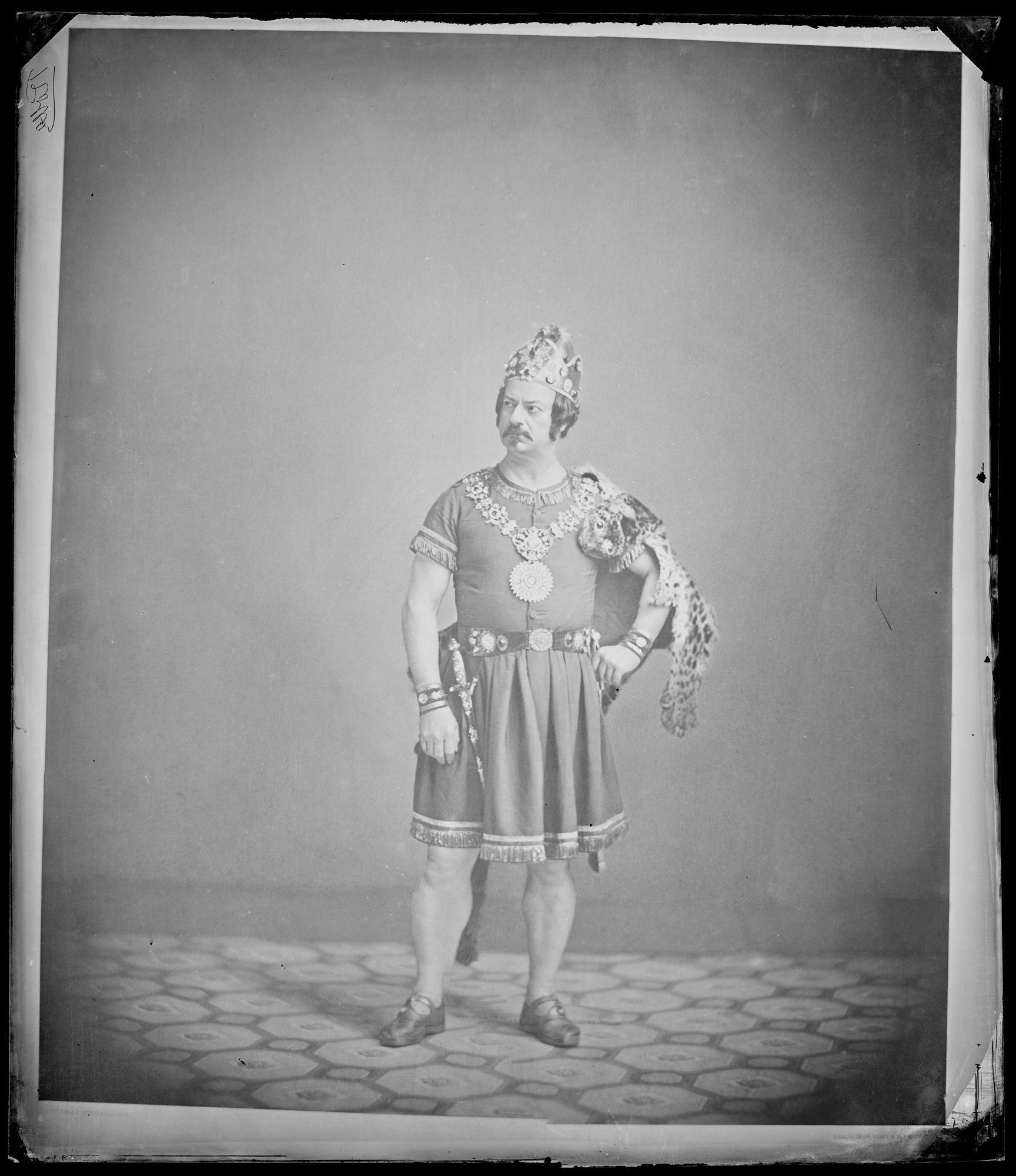 Edwin Forrest as Rolla