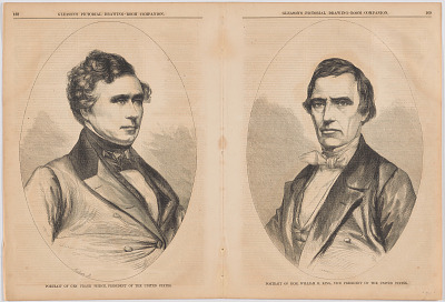 Franklin Pierce and William Rufus Devane King