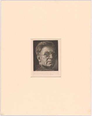 Victor Karl Hammer Self-Portrait