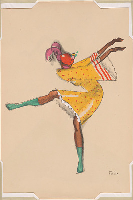 Le Tumulte Noir/Dancing Woman in Yellow